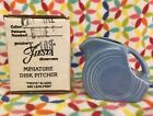 Fiesta Periwinkle Mini Disc Pitcher With Box