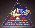 LMH STICKER Badge NASA STS 96 SPACE SHUTTLE Discovery 1999 Mission Crew Insignia