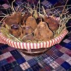 New Primitive/Country Scented Handmade Beeswax Pear Handmade