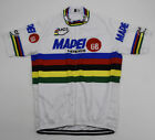 MAPEI GB Cycling Jersey Retro Road Pro Clothing MTB Short Sleeve Racing