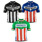 BROOKLYN Cycling Jersey Retro Road Pro Clothing MTB Short Sleeve Bike Riding