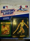 1989 WILL CLARK KENNER STARTING LINEUP BASEBALL TOY & CARD SAN FRANSISCO GIANTS