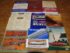 1968 Chevrolet Camaro Shop Service Manual Owners Assembly Brochure Lot of 12