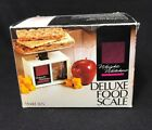 Weight Watchers Deluxe Food Scale Model 3125 New in Box