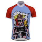 1986 RADAR LA VIE CLAIRE Cycling Jersey Shirt Retro Bike Ropa Ciclismo MTB