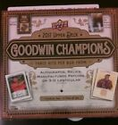 2017 Upper Deck Goodwin Champions Hobby Box factory sealed 3 Hits per King Woods