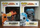 ROCKY & BULLWINKLE FUNKO POP LOT cartoon animation moose squirrel