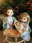 Precious Moments Nativity Come Let Us Adore Him 9 Dolls Absolutely Beautiful