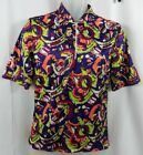 Fila Cycling Jersey Mens Small 1 4 Zip Bicycle Retro Colorful 3 Pockets Vintage