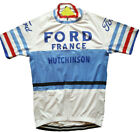 1966 Tour of France Cycling Jersey Retro Road Pro Clothing MTB Short Sleeve Bike
