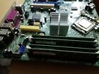 motherboard with Intel core 2 duo 233 ghz 4 gb ram installed 2 pci e16