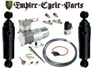 Harley Bagger Touring Air Ride Suspension Kit 94 2019 Covered Style Shock