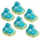 SwimWays Fabric Infant Baby Spring Swimming Pool Float with Canopy 6 Pack