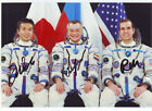 RARE Picture Space Soyuz TMA 11M with 100 original Autographs Crew Members