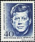 FRD FRGermany 453 complete issue FDC 1964 John F Kennedy