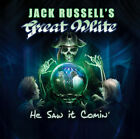 Jack Russell's Great White ‎– He Saw It Comin' COLLECTOR'S NEW CD! FREE SHIPPING