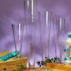 Clear Glass Trumpet Vase H 16 Open 42512 Pcs Great for Floral Centerpiece