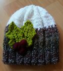 Childs Christmas Pudding Beanie Hat *Easy* Knitting Pattern Straight Needles