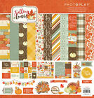 Photo Play Paper Falling Leaves 12x12 Collection Pack Autumn Thanksgiving