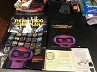 Nintendo Deluxe Set NES ROB Console Instruction Manual R.O.B. +Eye Filter Poster
