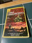 Three Times Infinity Leo Margulies 1958 first edition rare sci fi book