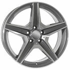 17 C63 AMG STYLE GUNMETAL WHEELS RIMS FITS MERCEDES BENZ E350 E550 COUPE 4MATIC