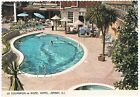 Postcard Insel Jersey Kanalinseln Channel Istands 1972 Rozel Hotel Swimming Pool