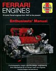 FERRARI ENGINES BOOK HAYNES ENTHUSIASTS MANUAL V12 V8