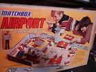 Vintage 1975 Matchbox Airport Playcase Playset 95 complete with original box