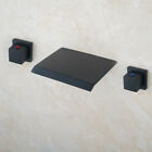 US Oval Tempered Glass Bathroom Vessel Sink Bowl Chrome Mixer Tap Faucet Set