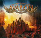 Timo Tolkki's Avalon ‎– The Land Of New Hope - A Metal Opera CD+DVD DIGIBOOK!