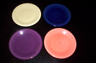 Fiesta Ware Lot of 4 Salad Plates 7.25