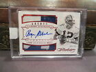Panini Flawless Ruby On Card Autograph Jersey Cowboys Roger Staubach 04 15 2014