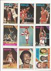 1975-76 TOPPS BASKETBALL --- 58 CARD LOT --- MOSTLY DIFFERENT