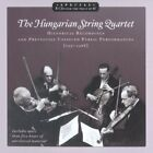 Zoltan Szekely and the Hungarian String Quartet CD NEW