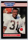 1989  FRANK MINNIFIELD - Kenner Starting Lineup Card - CLEVELAND BROWNS