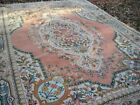 FALL CLEARANCE SALE! UNUSUAL VINTAGE 10X14 CHINESE ART DECO RUG