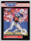 1989   DUANE BICKETT - Kenner Starting Lineup Card - INDIANAPOLIS COLTS
