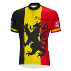 BELGIUM FLANDERS Cycling Jersey Retro Road Pro Clothing MTB Short Sleeve Racing