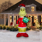 Holiday Time 55 ft Christmas Grinch Inflatable Outdoor Yard Lawn Decor Xmas