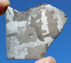 Meteorites Iron Meteorite 591g Polished and Etched Part Slice