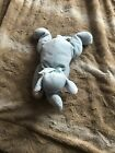Ty Pillow Pal Squirt blue plush elephant Stuffed Animal Beanie Baby Retired nice
