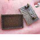 1pc antiqued bronze picture frame charm G429