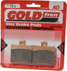 Aprilia Leonardo 300 Brake Disc Pads Rear R/H Goldfren 2005-2006