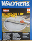 Walthers HO 933 2851 Motorized 110 Turntable Assembled 16 7 16 417cm OD