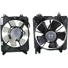 New Set of 2 Cooling Fan Assemblies Driver  Passenger Side LH RH for Civic Pair