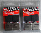 KTM SUPERMOTO / R 950 2005 > 2008 BREMBO RC CARBON BRAKE PADS 2 SETS RACING