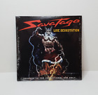SAVATAGE - Live Devastation - ULTRA RARE promo CD - SEALED / NEW