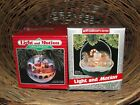 Christmas Tree Ornaments Light and Motion Village Express and Forest Frolics