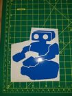 Nintendo Rob The Robot 4 Inch Vinyl Car / Wall Sticker Decal NES Gyromite 1980's